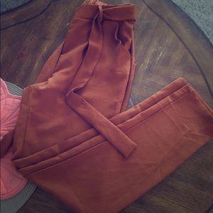 Rue21 Women' Trouser Half Elastic Waist w/ Pockets